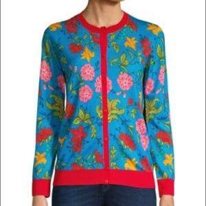 🆕Escada Sport Floral Virgin Wool Sweater